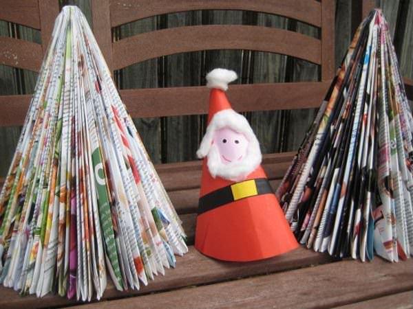 Brăduți de Crăciun care țin cu mediul