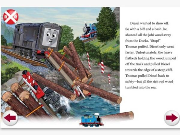 Dăm de Thomas și pe iPhone