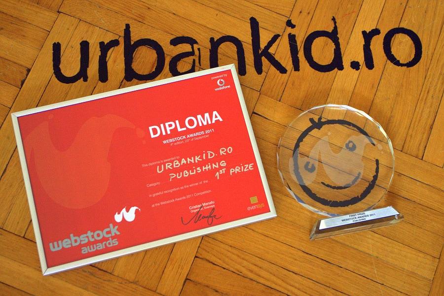 UrbanKid.ro a luat premiul I la Webstock 2011!