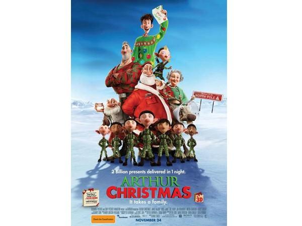 Arthur Christmas – Marea cursă de Crăciun