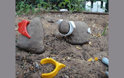 Jucării din pământ
