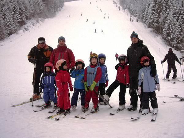 Tabere de schi pentru copii