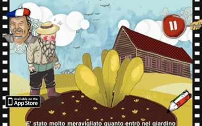 A Giant Radish, povestea care ne învață mai multe limbi străine
