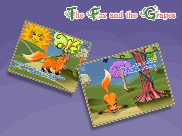 Poveștile interactive sunt pe iPad, am descoperit The Fox and the Grapes [concurs încheiat]