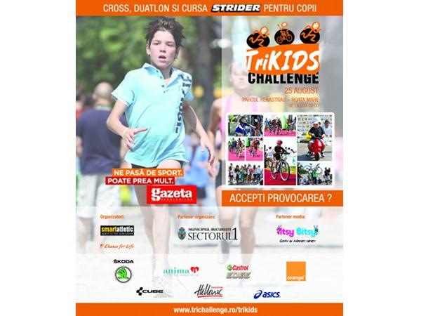 TriKids, sport și competiție pentru copii