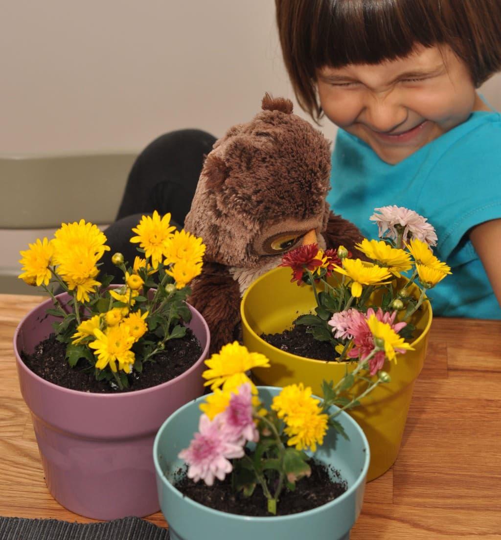 Joacă şi bucătăreală, cu Smaranda – azi ghivece cu flori!