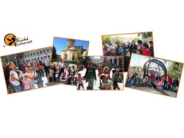 Descoperă Bucureștiul cu un tur pietonal ghidat, special pentru copii și familii [CONCURS ÎNCHEIAT]