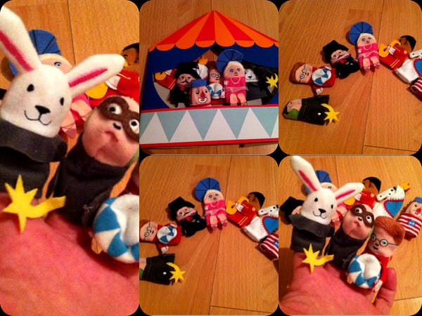 Ne jucăm cu degetele și marionetele speciale