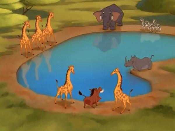 Cântec și desene animate: Hakuna Matata