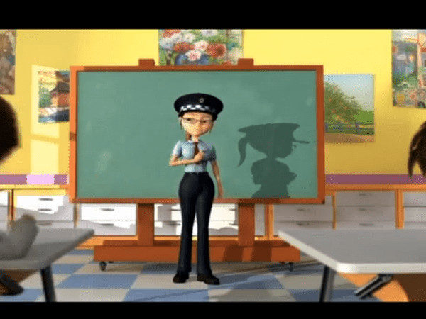 Desene animate care învață copiii despre educația rutieră