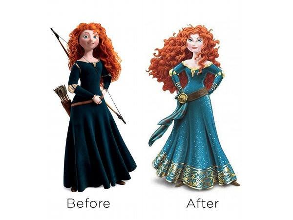 "Merida, rămâi ""Brave"" și nu te schimba"