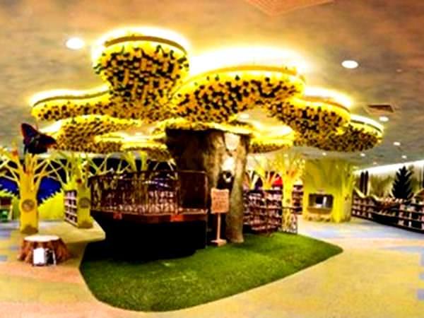 Prima bibliotecă verde pentru copii