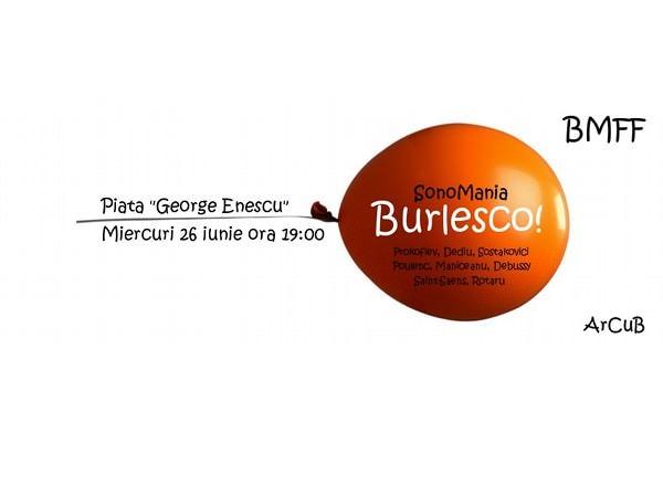 Concert în aer liber în Piața George Enescu