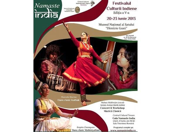 Namaste India – Festivalul Culturii Indiene