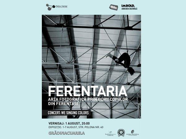Expoziție: Artă fotografică, prin ochii copiilor din Ferentari