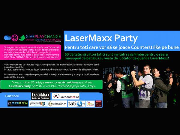 LaserMaxx Party – pentru tăticii care vor să joace Counterstrike pe bune