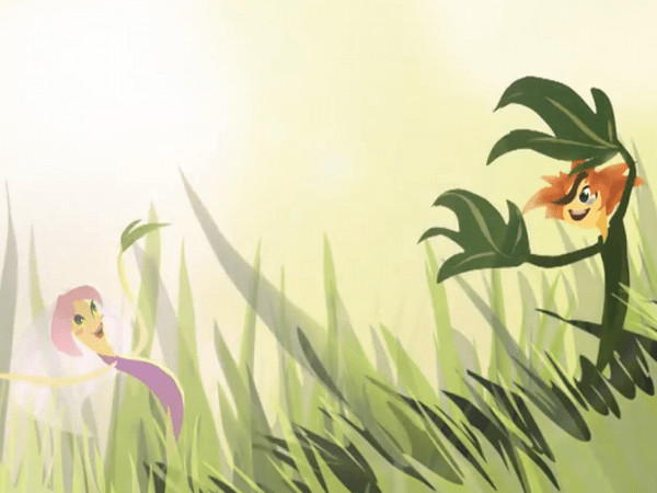 Serenada frunzelor: scurtă animație pentru copii
