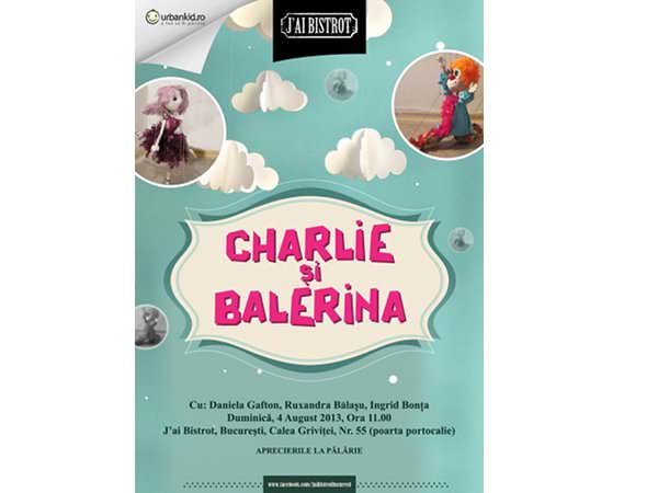 Charlie și Balerina își dau întâlnire la J'ai Bistrot