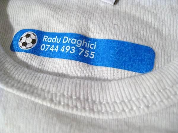 etichete pentru haine