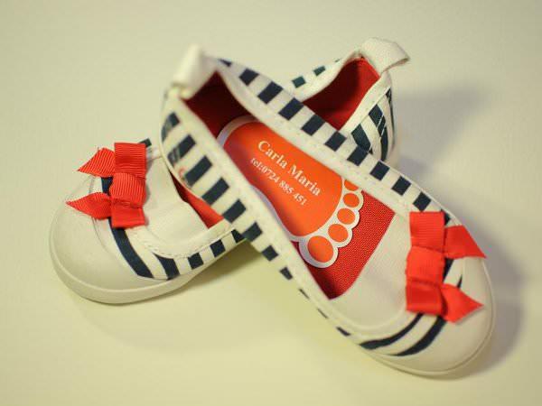 etichete pentru pantofi
