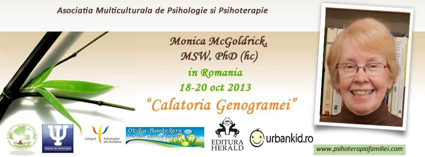 Învață din trecut și schimbă viitorul – despre aplicațiile genogramei cu Monica McGoldrick