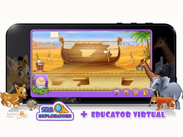 Petrică si Arca lui Noe, o aplicație ce te ajută la explorare