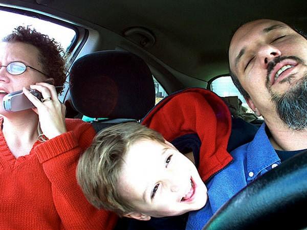 Riscurile șofatului alături de copii