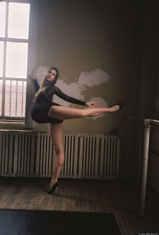 Balerina cu burtică ce încurajează viitoarele mămici să fie mândre de corpul lor