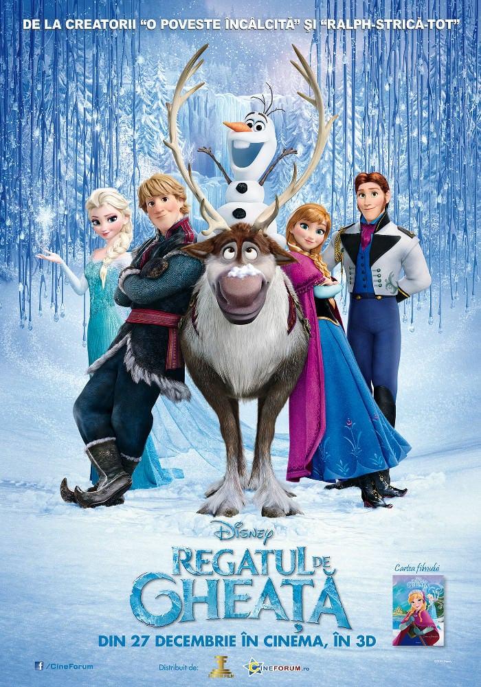 Frozen / Regatul de gheață – animația pe care nu trebuie să o ratați [concurs încheiat]