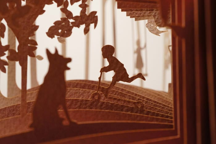 Poveștile din cărți, expuse la 360 de grade