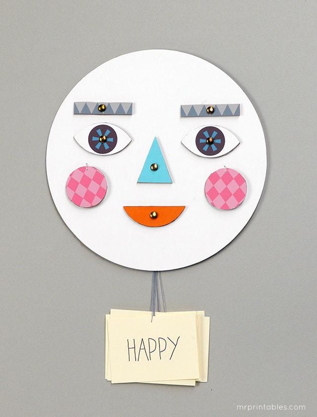 Învătăm despre emoții, cu o jucărie simpatică (DIY)