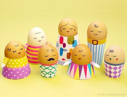 oameni si oua