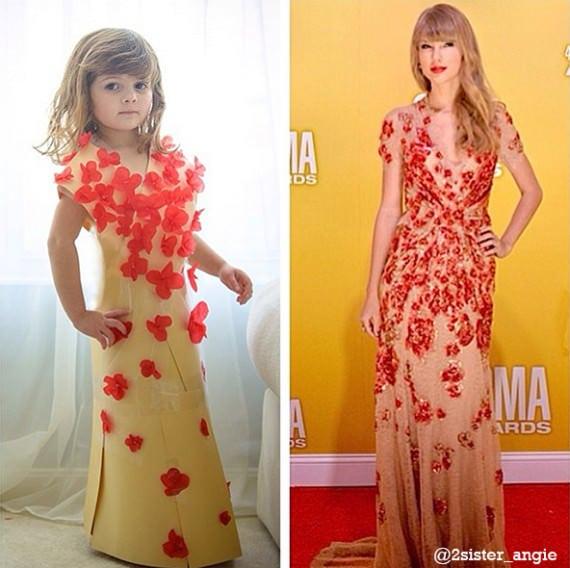 Fashion din hârtie. Zeci de rochii făcute din hârtie colorată