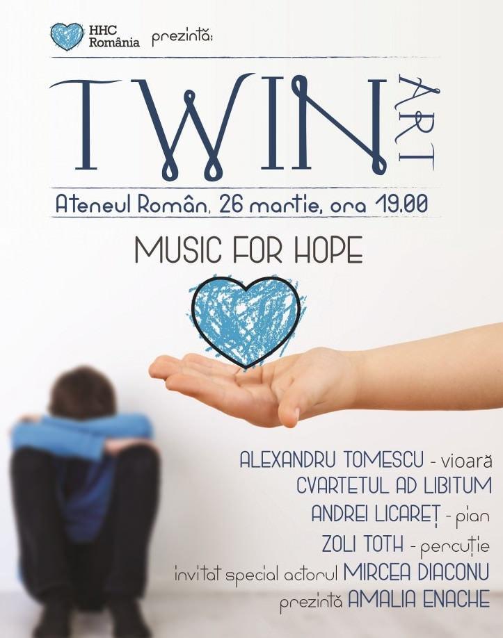 Gala Twin Art, dedicată Fundației Hope and Homes for Children România