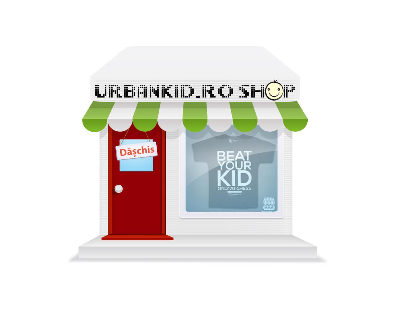 Dăm drumul la UrbanKid.ro SHOP!