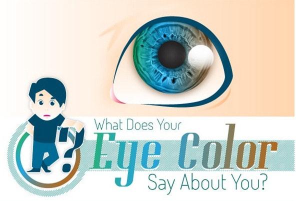 Ochii verzi niciodată să nu-i crezi [infografic interesant despre culoarea ochilor]