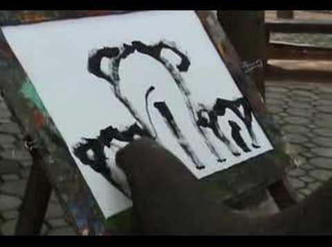 Video: Suda – elefantul care pictează elefanți (IV)