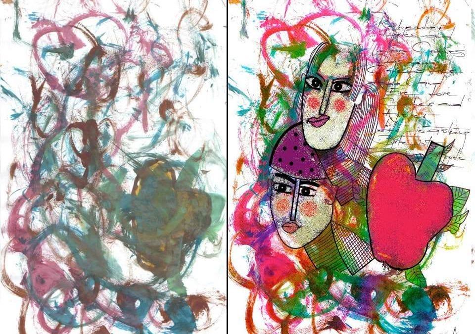 ROXYGRAPHY sau cum copiii sunt artiști și comunică totul prin culoare
