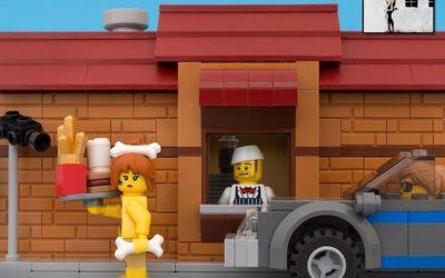 Cui îi place LEGO? Dar un oraș din LEGO