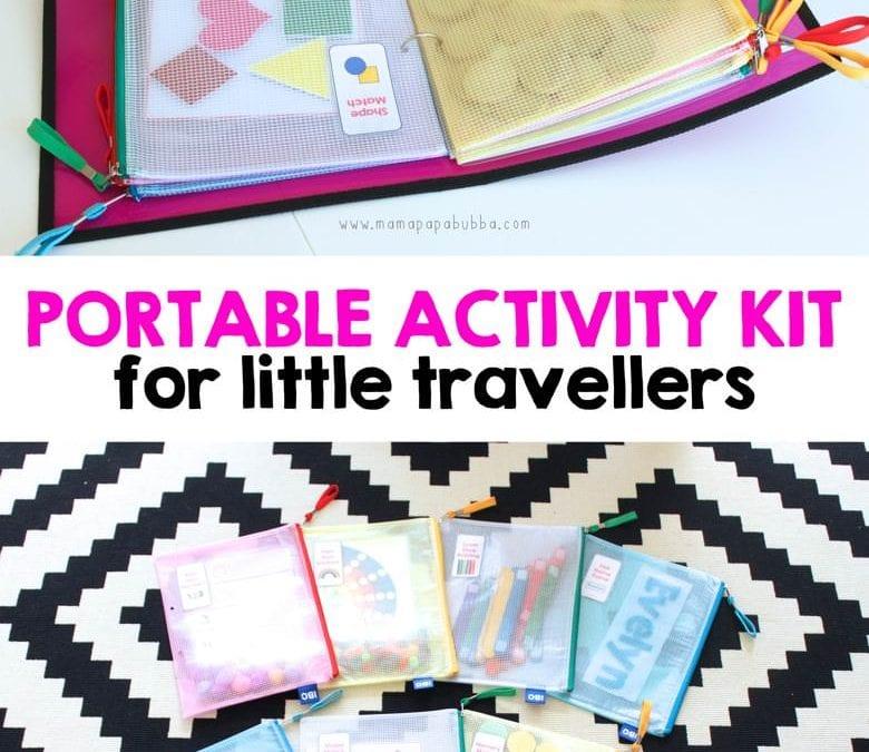 Mapă cu activități pentru vacanțe