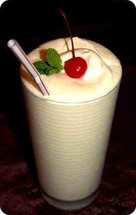 milkshake vanilie