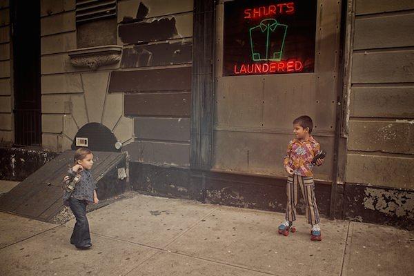 'The Vintage Project' – aceiași copii, ere diferite