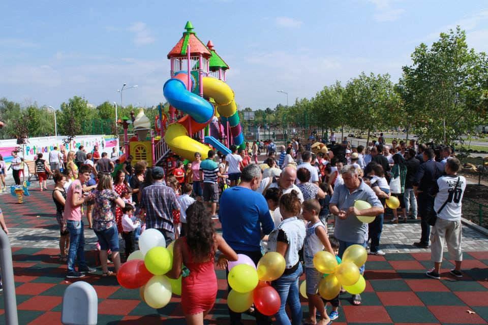 Loc de joacă de 400 mp, lansat în București