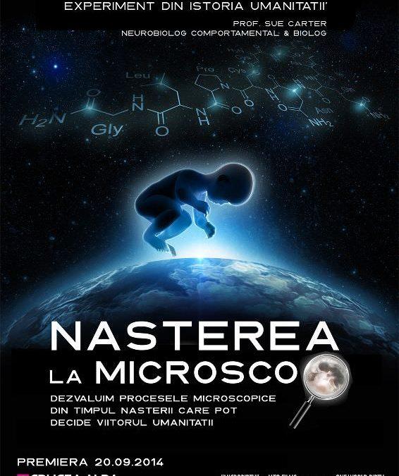 Filmul documentar Nașterea la Microscop (Microbirth), în premieră în România