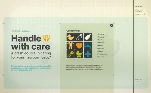 Un clip animat despre cum să ai grijă de un nou-născut