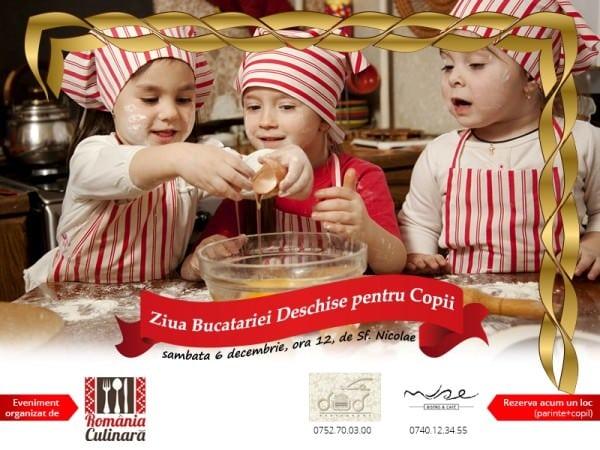 Ziua Bucătăriei Deschise pentru Copii sau un eveniment pentru familii pofticioase