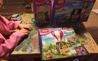 Review LEGO 41097: Balonul cu aer cald din Heartlake