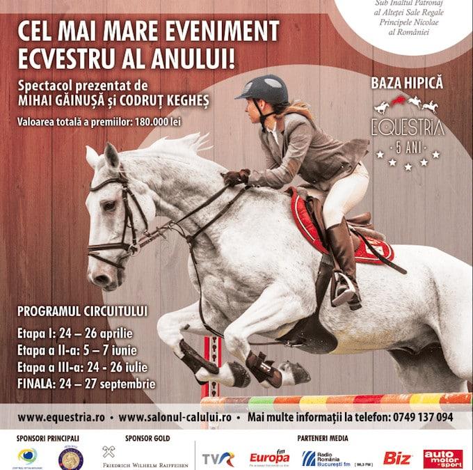 Salonul Calului, cel mai important şi complex eveniment ecvestru din țară