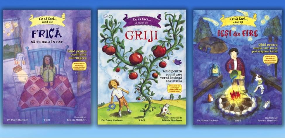 """""""Ce să faci"""" – trei cărți pentru copii și părinții lor"""