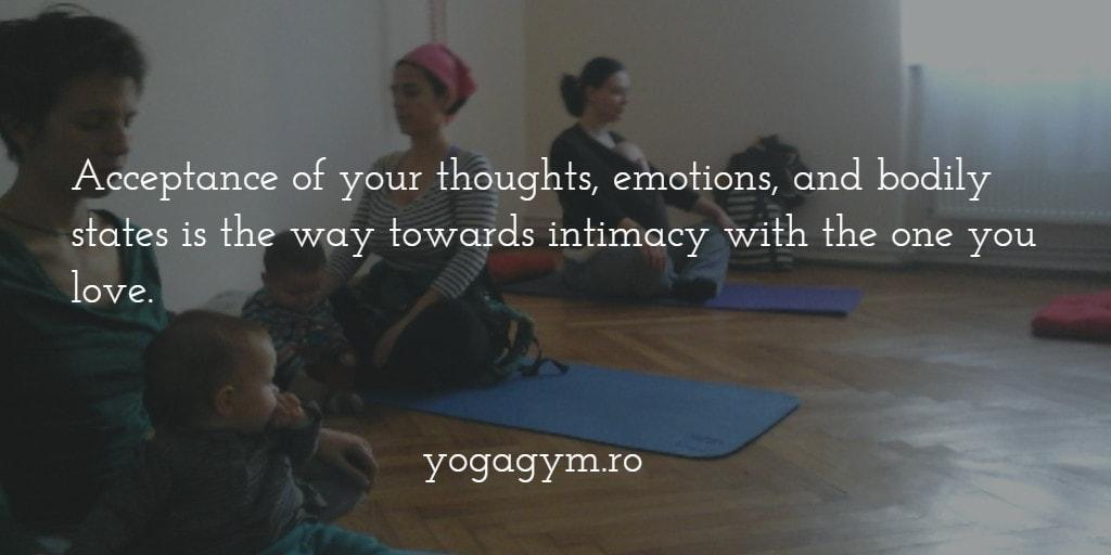 Yogagym – pentru oricine. Și pentru mame cu bebeluși în brațe
